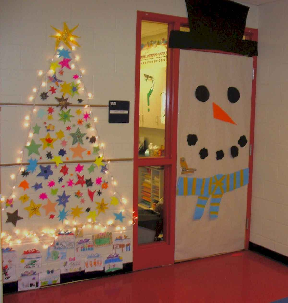 40 Simple And Easy DIY Christmas Door Decorations For Home
