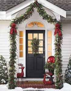 50 christmas front porch decor ideas and remodel (1)