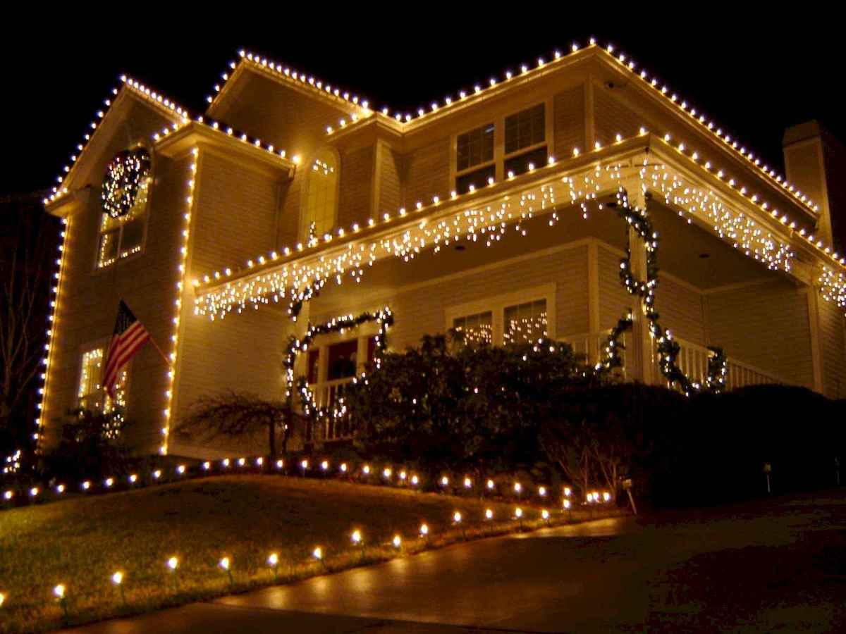 50 stunning outdoor christmas decor ideas and makeover (10)