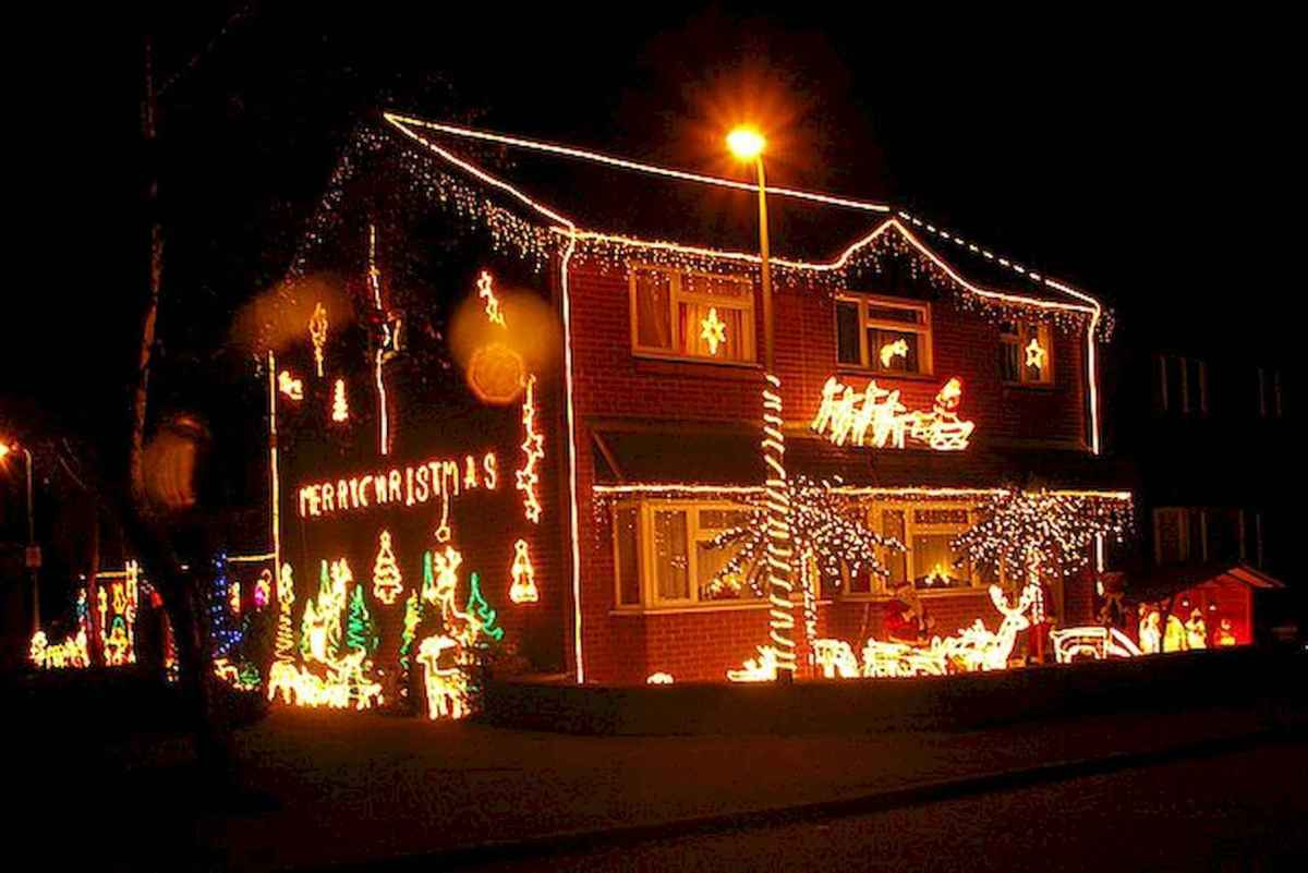 50 stunning outdoor christmas decor ideas and makeover (27)