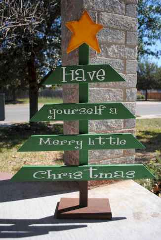 50 stunning outdoor christmas decor ideas and makeover (44)