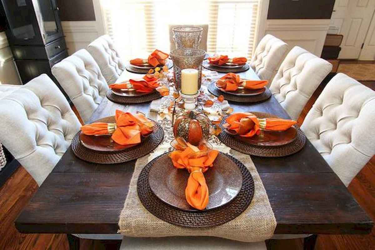 20 elegant thanksgiving dinner table decor ideas (1)