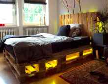 30 creative wooden pallets bed projects ideas (11)