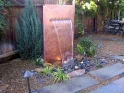 30 fantastic garden waterfall for small garden ideas (28)