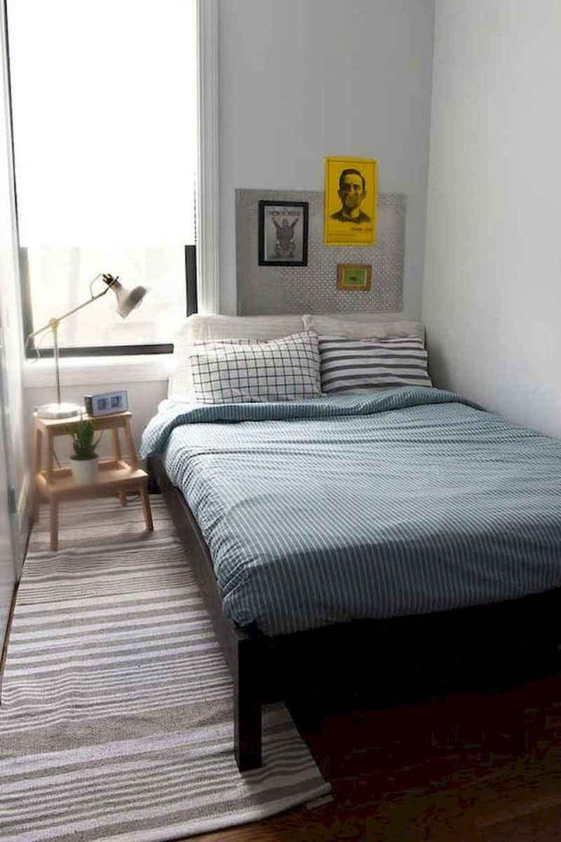 40 creative small apartment bedroom decor ideas (20)