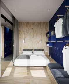 40 creative small apartment bedroom decor ideas (35)