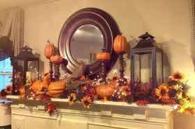 40 elegant fall mantle decor ideas (31)