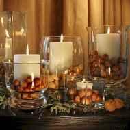 40 elegant fall mantle decor ideas (35)