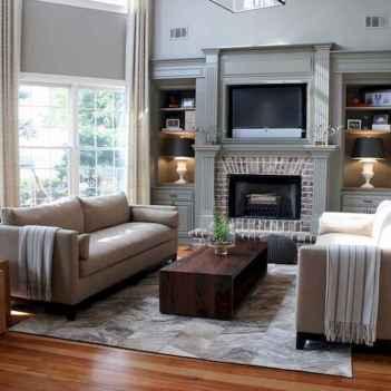 40 elegant fireplace makeover for farmhouse home decor (27)