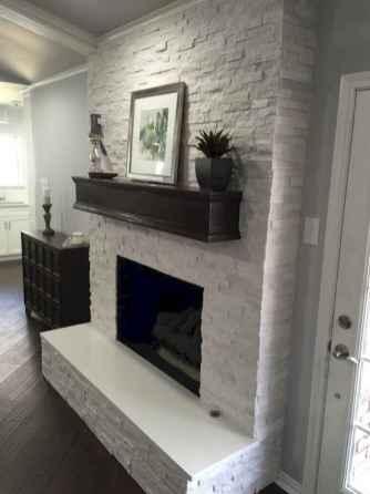 40 elegant fireplace makeover for farmhouse home decor (39)