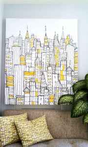 40 most creative diy wall art design ideas and makeover (40)