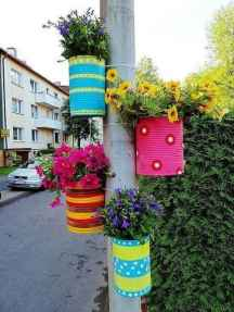 50 creative container gardening flowers ideas decorations (16)