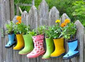 50 creative container gardening flowers ideas decorations (37)
