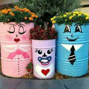 50 creative container gardening flowers ideas decorations (43)