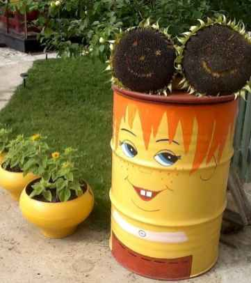 50 creative container gardening flowers ideas decorations (9)