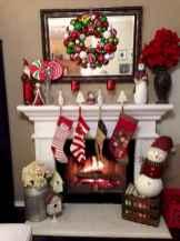 50 elegant christmas mantle decor ideas (24)