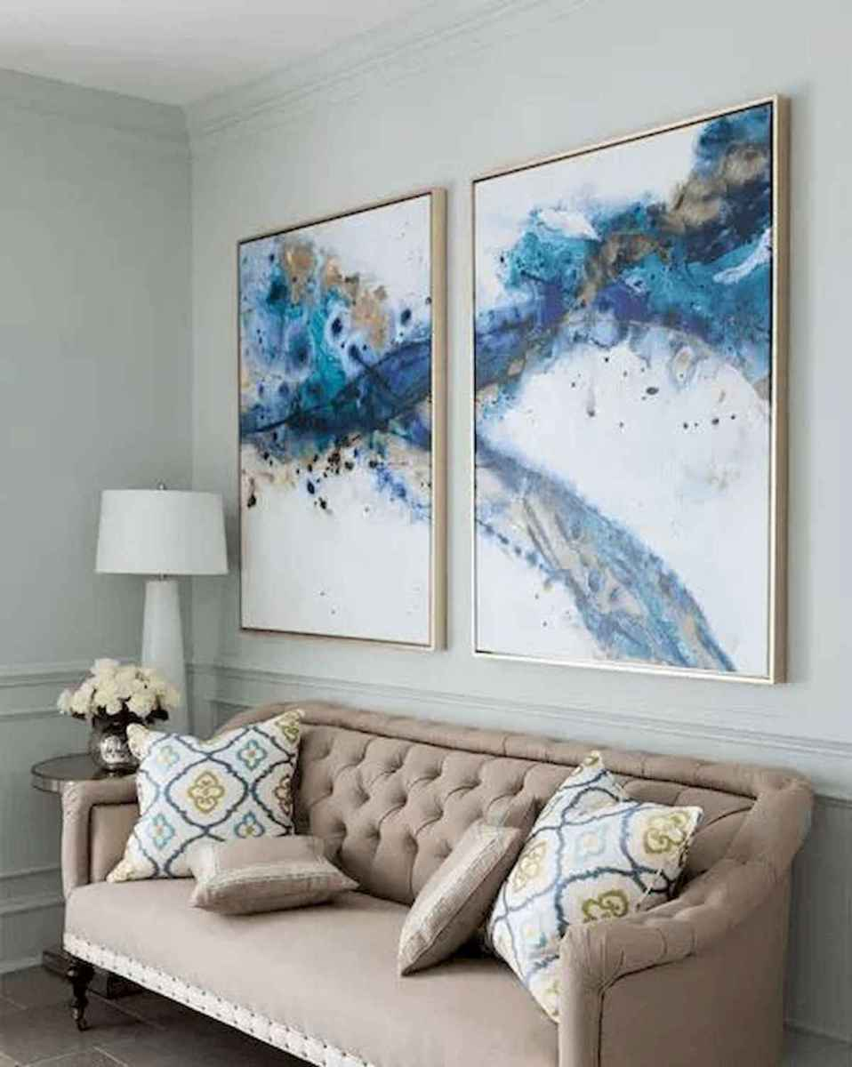 60 most elegant wall art ideas for living room makeover 21