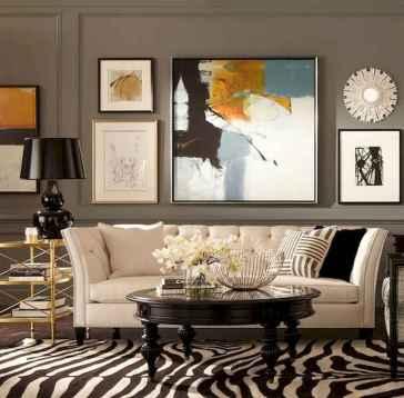 60 most elegant wall art ideas for living room makeover (31)