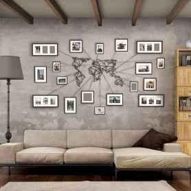 60 most elegant wall art ideas for living room makeover (58)