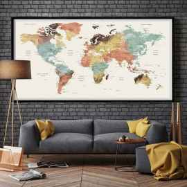 60 most elegant wall art ideas for living room makeover (9)