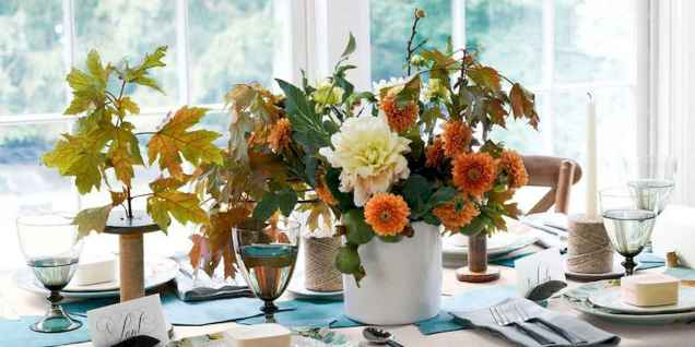 35 easy thanksgiving decor ideas on a budget (26)