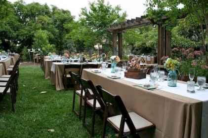 40 awesome backyard wedding decor ideas (10)