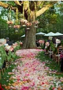 40 awesome backyard wedding decor ideas (19)