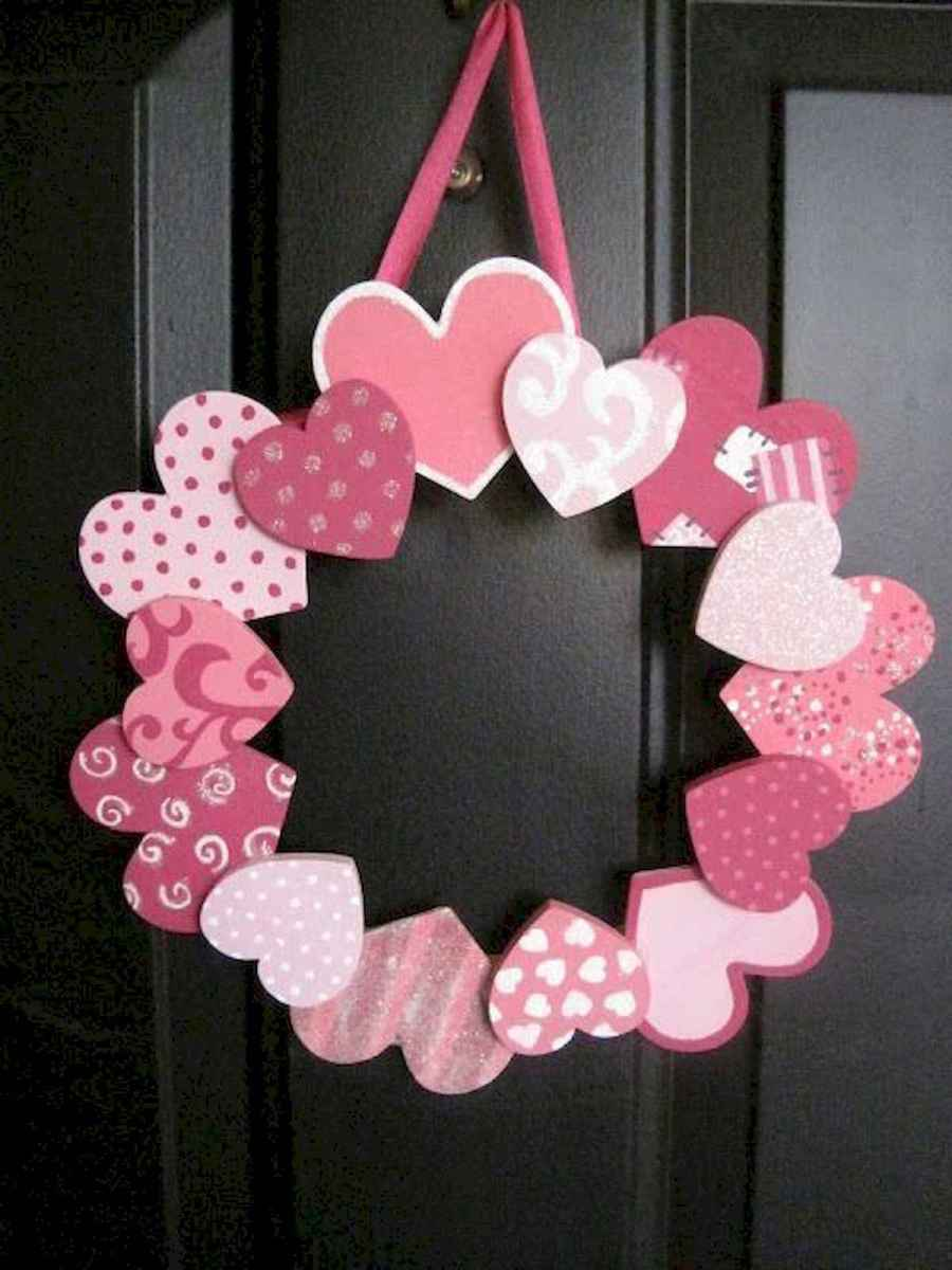 75 lovely valentines day crafts design ideas (32)