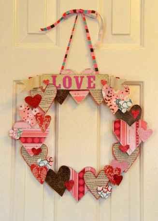 75 lovely valentines day crafts design ideas (68)