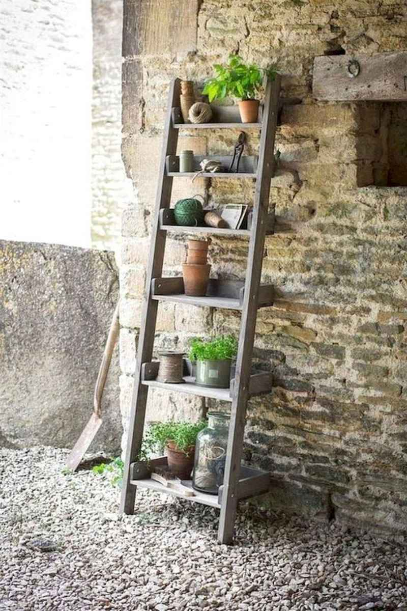 50 unique and creative ladder in the garden design ideas and remodel (12)
