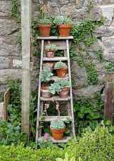 50 unique and creative ladder in the garden design ideas and remodel (21)