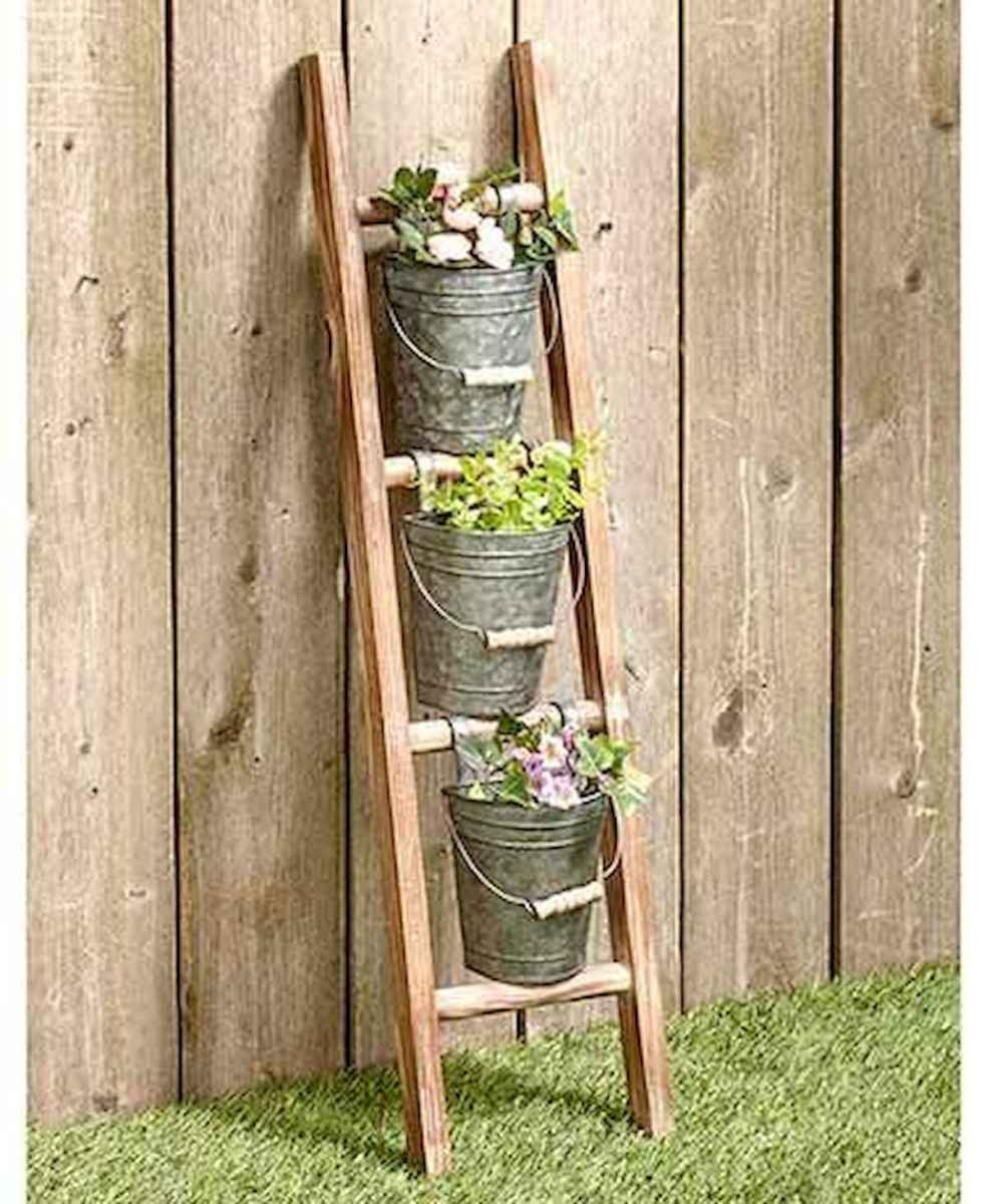 50 unique and creative ladder in the garden design ideas and remodel (22)
