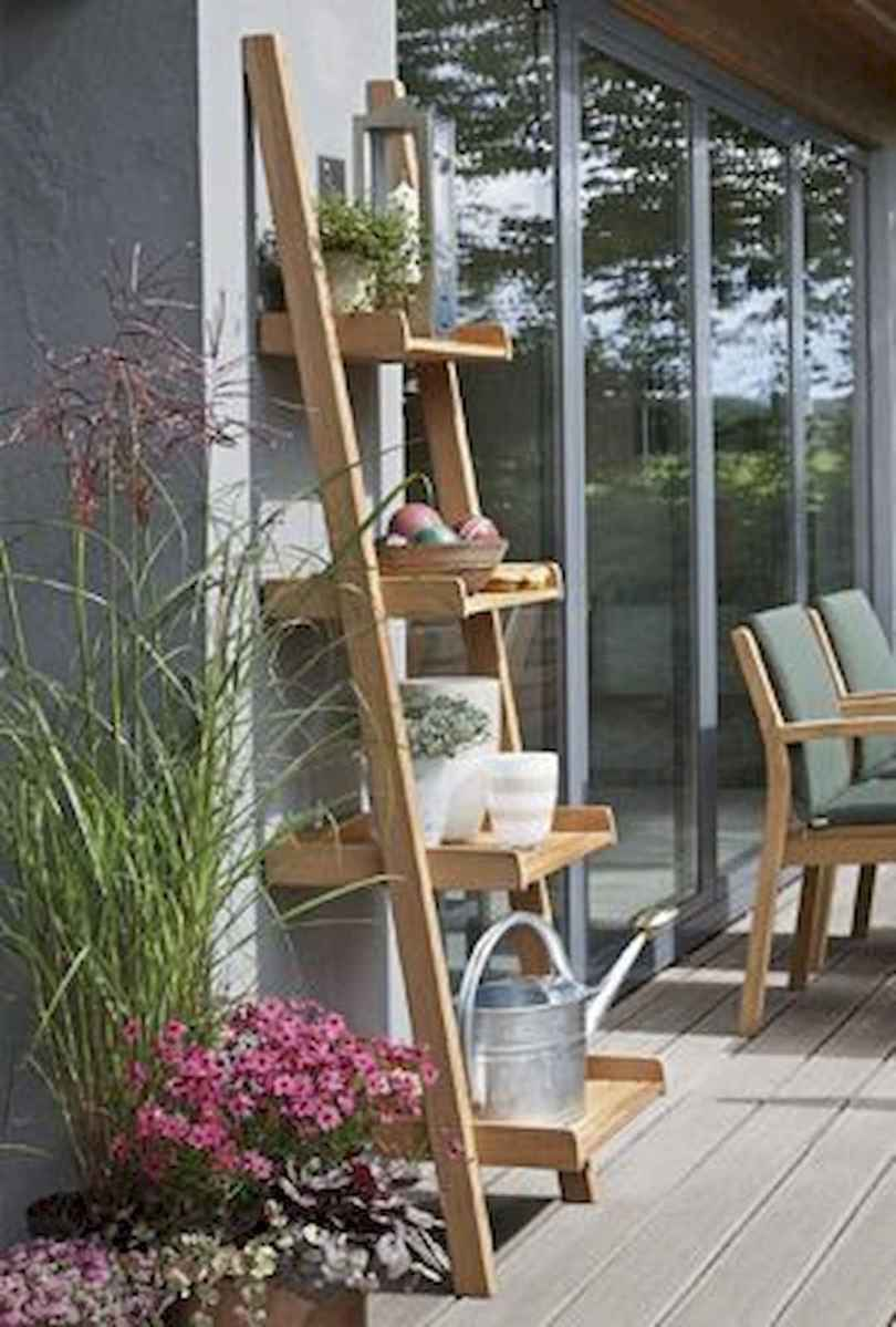 50 unique and creative ladder in the garden design ideas and remodel (29)