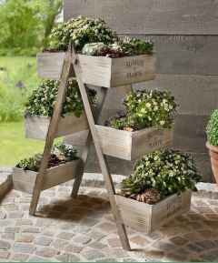 50 unique and creative ladder in the garden design ideas and remodel (33)