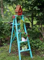 50 unique and creative ladder in the garden design ideas and remodel (35)