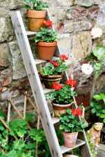 50 unique and creative ladder in the garden design ideas and remodel (36)