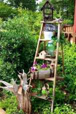 50 unique and creative ladder in the garden design ideas and remodel (37)