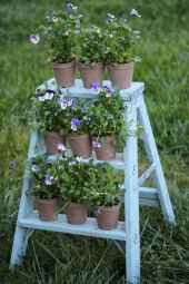 50 unique and creative ladder in the garden design ideas and remodel (45)
