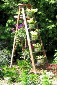 50 unique and creative ladder in the garden design ideas and remodel (5)