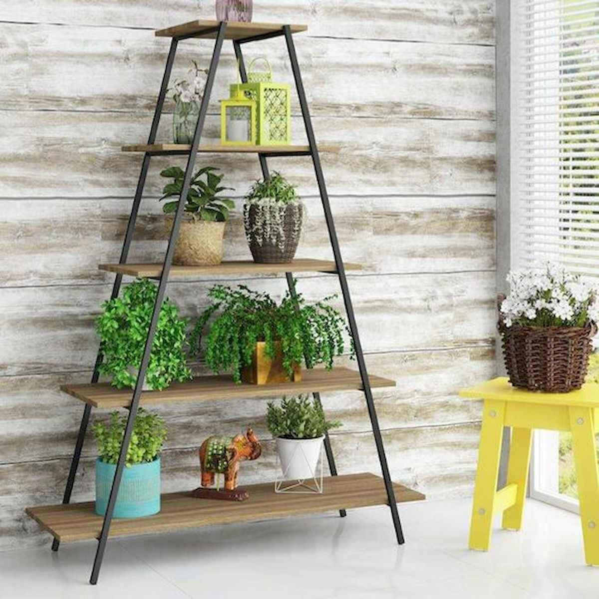 50 unique and creative ladder in the garden design ideas and remodel (51)