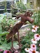 70 creative and genius garden art from junk design ideas for summer (1)
