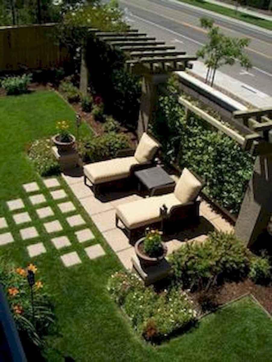 90 lovely backyard garden design ideas for summer (38)