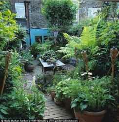 90 lovely backyard garden design ideas for summer (50)