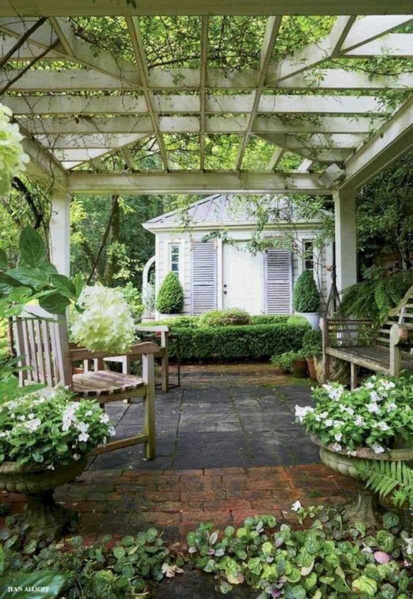 90 lovely backyard garden design ideas for summer (55)