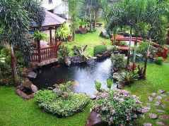 90 lovely backyard garden design ideas for summer (58)