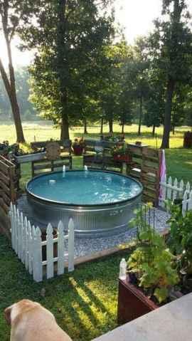 90 lovely backyard garden design ideas for summer (62)