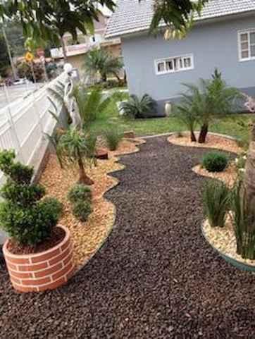 90 lovely backyard garden design ideas for summer (63)