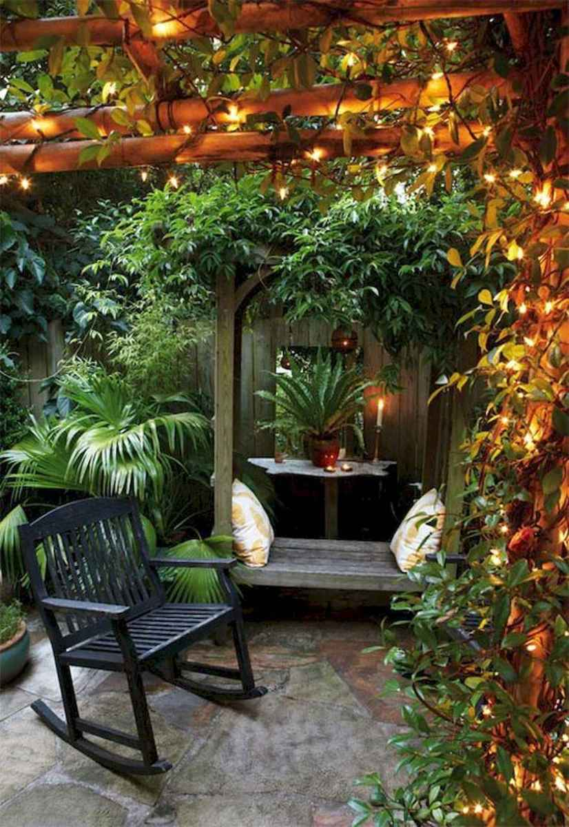 90 lovely backyard garden design ideas for summer (74)