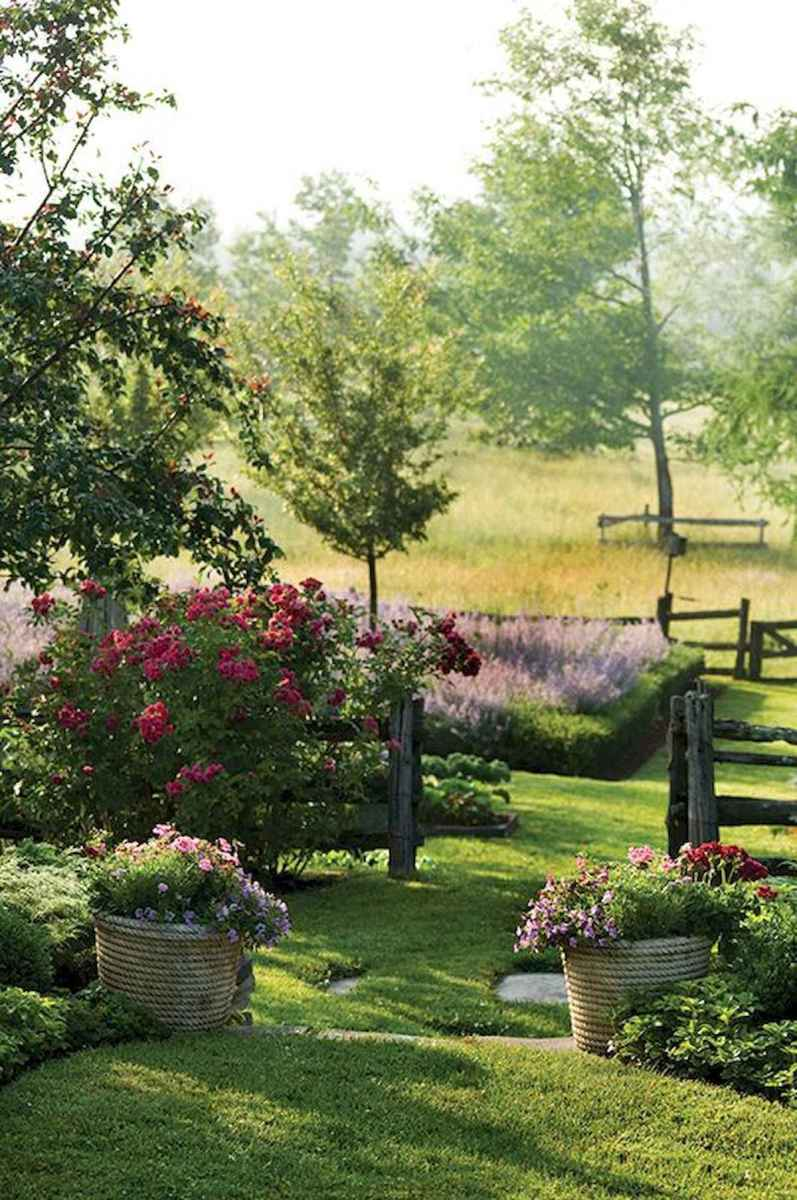 90 lovely backyard garden design ideas for summer (9)