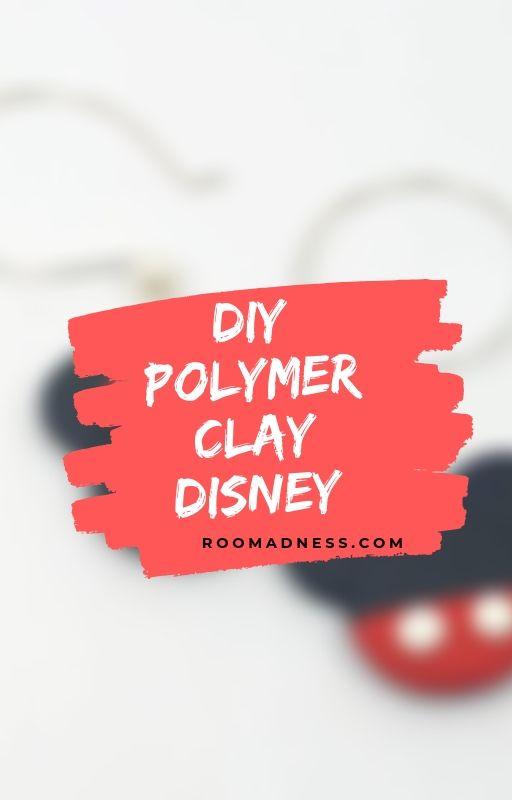 Diy polymer clay disney.